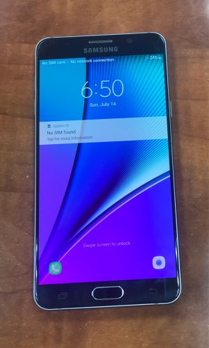 SAMSUNG NOTE 5 USED 64 GB