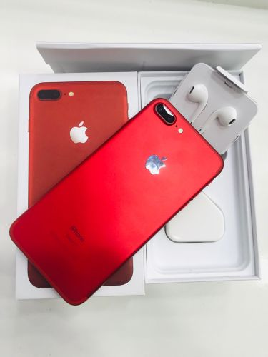 iphone 7+ (256)gb red