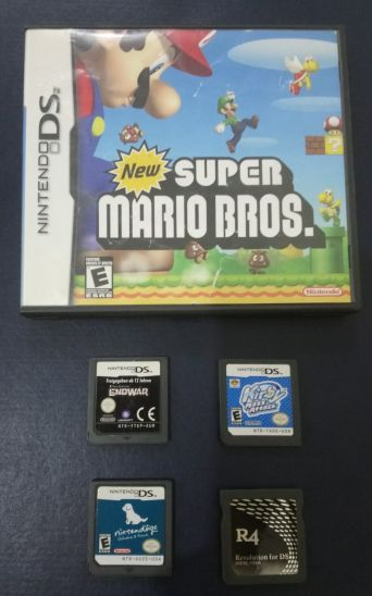 4 Ds games ( Super Mario, Kirby...)