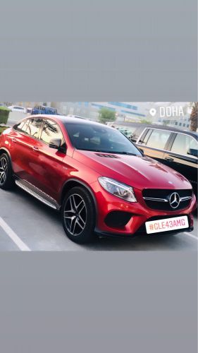 Mercedes GLE43 AMG Zero Accident