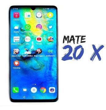 Mate 20 X new with Gifts