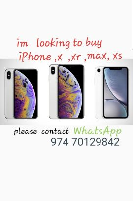 i need IPhone..max r xs
