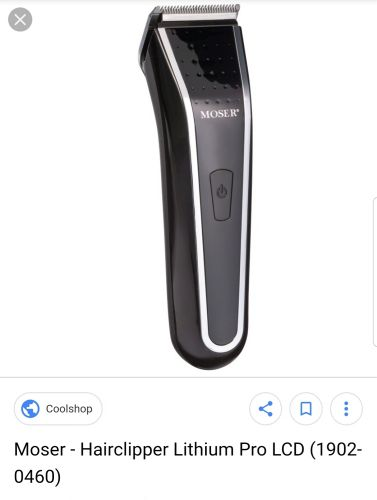 Beard trimmer - Moser