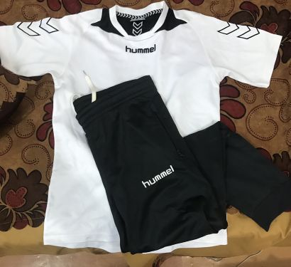 Hummel sports shirt and pants