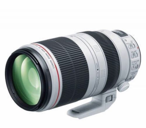 Used As new Canon lens 100-400