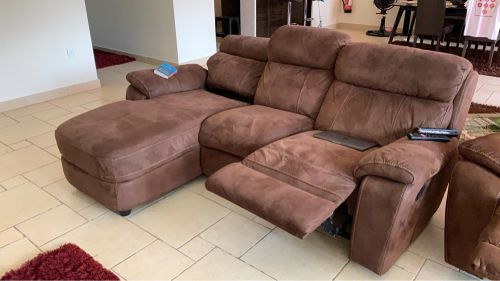 Sofa and lazy boy chair for sale
