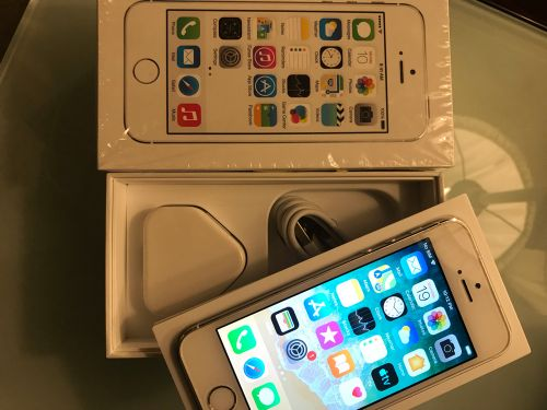 iPhone 5S, Silver, 32GB