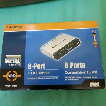 Switch  8 port