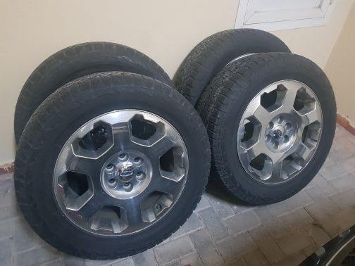 Ford f150 rims and tyres
