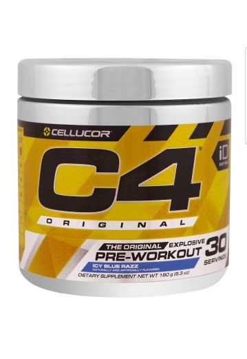 c4 pre-work out for extra energy