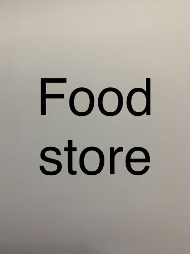 Food store required