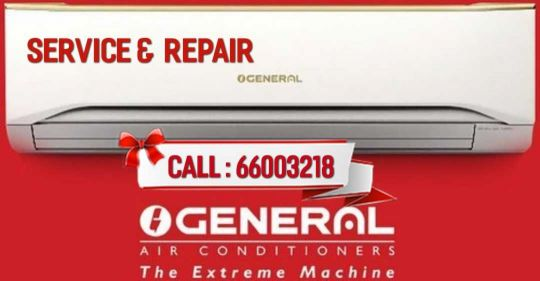 all type of AC service and repairs