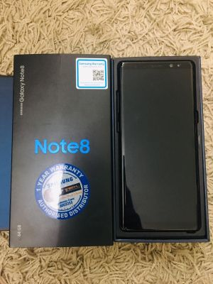 Note 8 size 64GB used less 1 Year