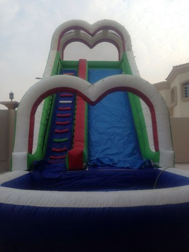 Slides with pool for sale