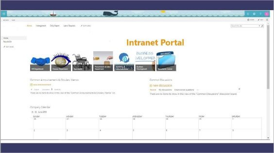 SharePoint Intranet Site