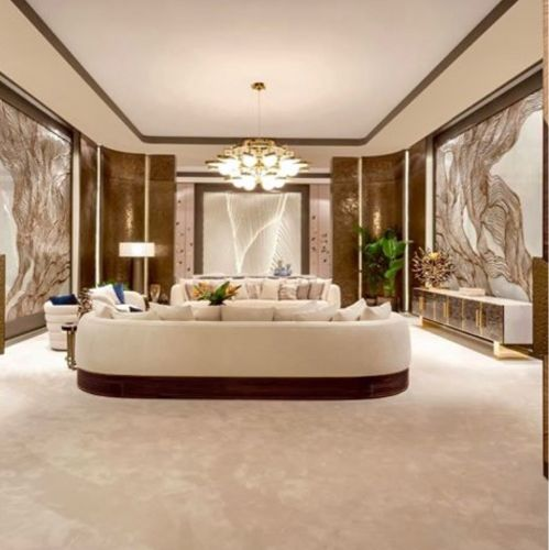 Interior designs and finishings
