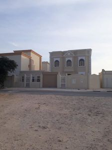Furnished villa in compound