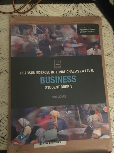 AS level business Edexcel book