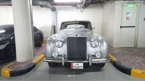Rolls-Royce , silver could