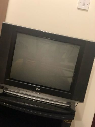 Flat screen LG TV in perfect