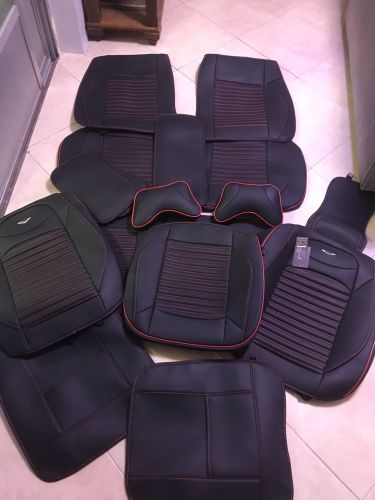Seat cover leather