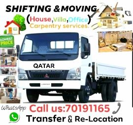HOUSE & OFFICE MOVING SERVICES .