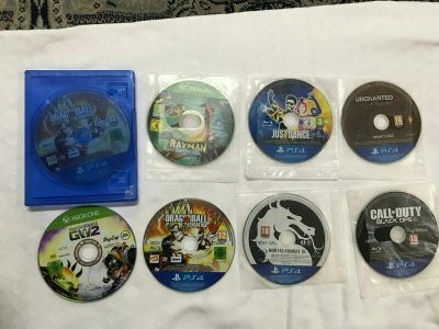 PS4 8 games for sell