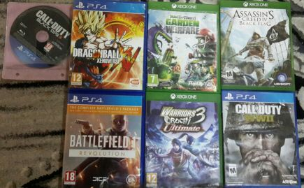 PS4 7 games for sell
