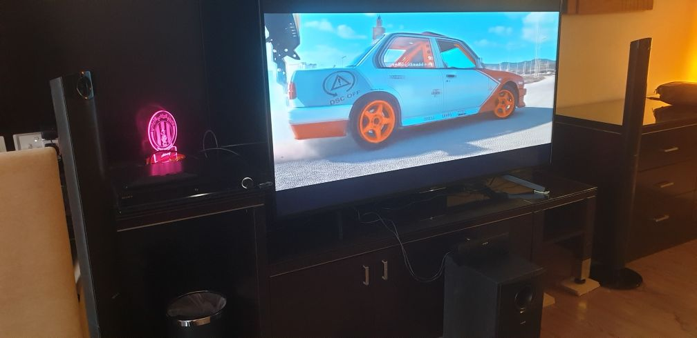 tv 64 inch 4k Sony + home theater 1000w