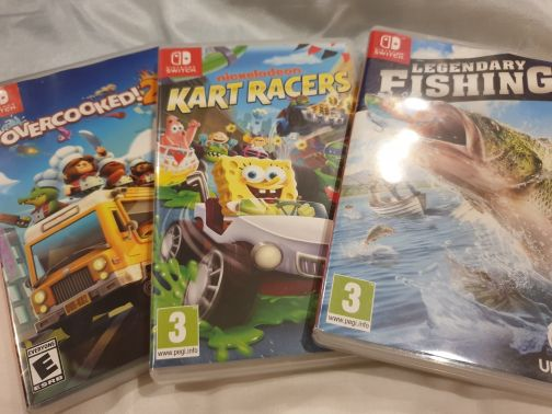 Nintendo Switch Games (Sale/Trade)