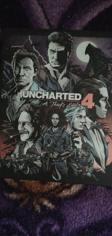 Steel Case Edition Uncharted 4