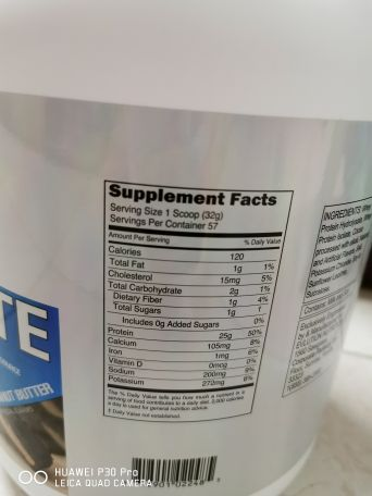 Evlution Iso protein