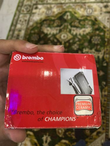 Brembo brake pads rear and front