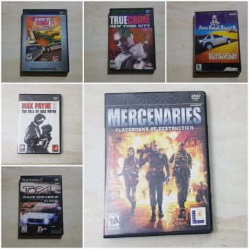 Playstation2- 6 Games- Perfect Condition