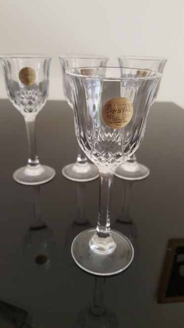 small Italian Antique Crystal glass(set)