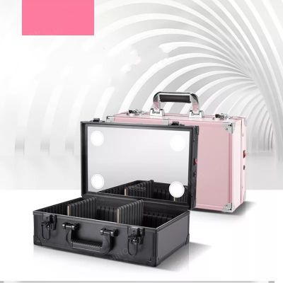 Makeup Case Mini 6 LED Chargable