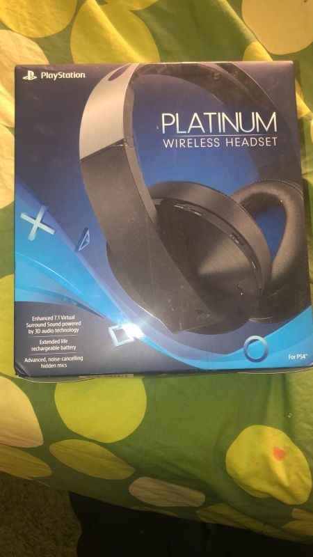 wireless headset new 300rial