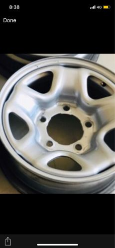 5 rims with bolts and cups