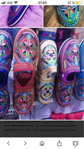 Moroccan traditional shoes