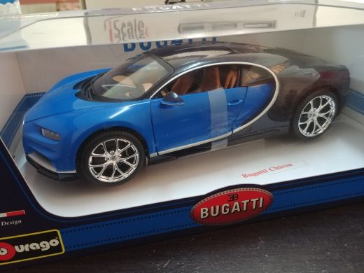 1:18 bugatti chiron model car