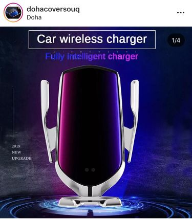 Car Automatic wireless charger