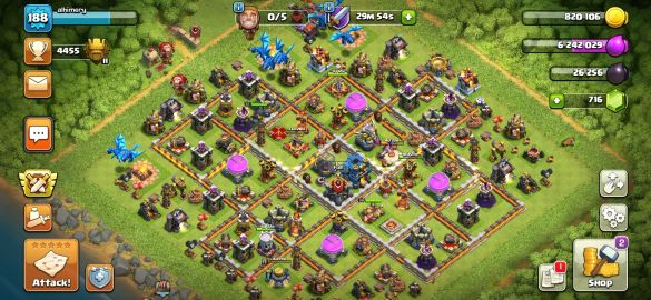 CLASH OH CLANS 12