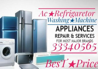 Ac+Fridge Sell,Fixing,Hot Air,Gas,Clean