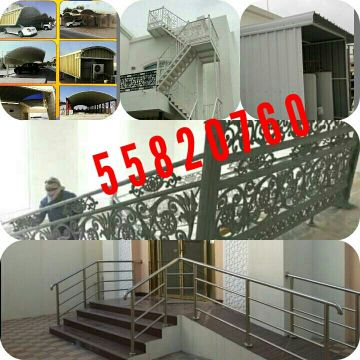 Haddad, parking, patiition, door, room,