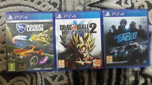 for sell 3 games ps4