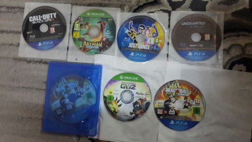 for sell 7 games PS4 and xbox