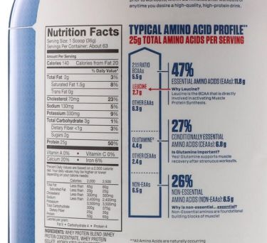 Protein dymatize isolate whey