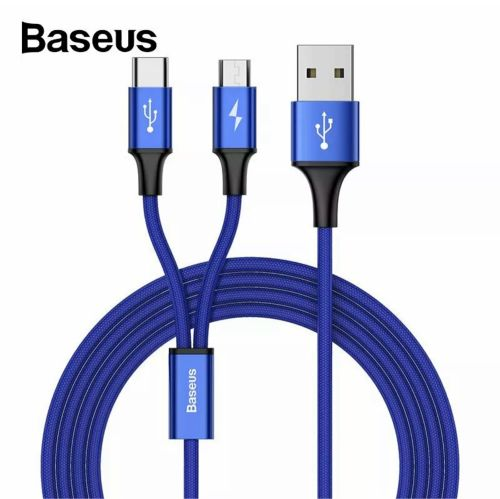 Baseus fast charge dual cable