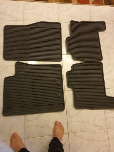 Ford expedition all weather floor mats