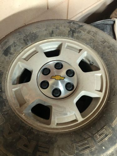 4 Chevrolet Rims with Tires
